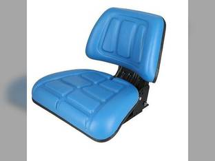 Seat Assembly Trapezoid Backed Vinyl Blue Ford 4630 545 4130 4830 345D 445C 260C 5030 345 3430 445D 250C 345C 3930 445 545C 3230 E9NN400AA
