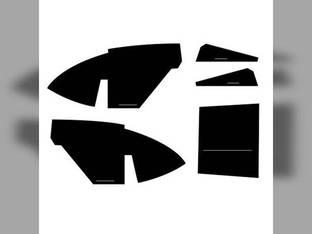 Cab Foam Kit with Headliner Black International 1566 1568 Hydro 100 966 1466 1066
