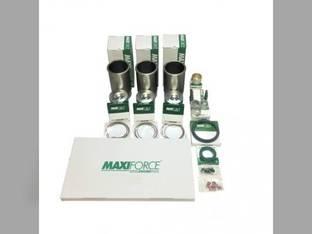 Engine Rebuild Kit - Less Bearings - Piston R500211 - Rod R501073 John Deere 5400N 3029T 8875 5400