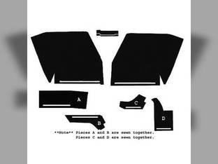 Cab Foam Kit less Headliner Black Oliver 1950 1655 2255 1955 1755 2150 1850 1650 1855 2050 1555 1550 1750
