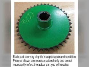 Used Sprocket Gear - Auger Vertical Lower John Deere 9510 9600 9500 9410 9610 9400 9550 9680 9750 9650 CTS 9860 9640 9660 9560 9760 9450 AH146352