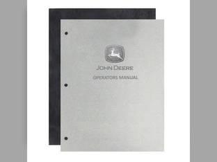 Operator's Manual - G John Deere G G DIR167