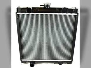 Radiator New Holland Boomer 3045 T2320 Boomer 3050 T2330 TC45DA Boomer 8N TC45A Case IH Farmall 45 DX45 Farmall 50 D45 Farmall 50B 87305449