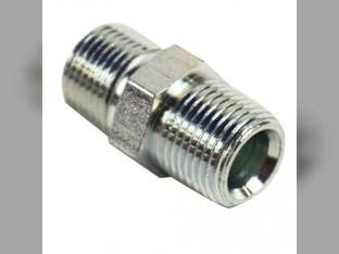 "Hydraulic Male Hex Nipple 3/8"" Male NPT 3/8"" Male NPT"