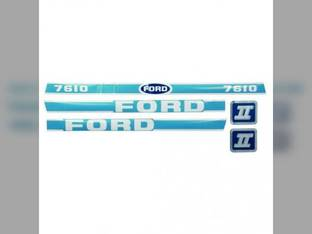 Decal Set Ford 7610 83928797