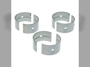 "Main Bearings - .010"" Oversize - Set Massey Ferguson 811 130 Perkins 4-107 4-108 Ford 555"