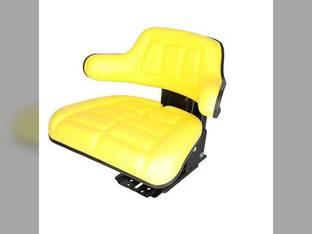 Seat Flip-up Grammer Style Vinyl Yellow FIAT 65-93 60-94 60-93 60-66 70-66 70-88 88-93 55-66 80-66 80-88 82-93 55-65 72-93 0278205 119896 1672345M91 1826035 193451M1 3901773M91 5161727 5C653