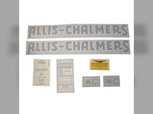 Decal Set Allis Chalmers WC