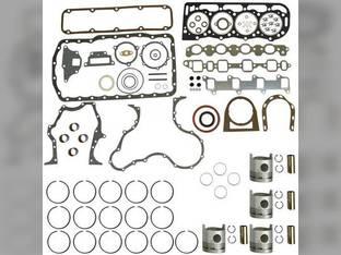 "Engine Rebuild Kit - Less Bearings - .020"" Oversize Pistons Ford 7100 7500 256T 7600 750 BSD442T 755 7200 A62 7700 7000"
