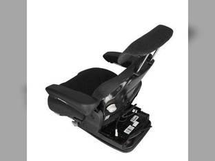 Seat Assembly - Air Supsension Grammer Style Fabric Black Massey Ferguson Case IH 7130 5130 7110 5140 7140 7120 7150 5120 Steiger McCormick New Holland Case Kubota Allis Chalmers Deutz Allis AGCO