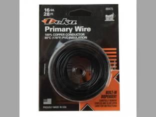 Wire Primary 16 Gauge 28' Black
