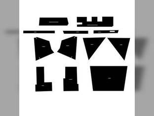 Cab Foam Kit with Headliner w/o Post Kit Black Allis Chalmers 7000