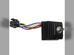 Rotary Wiper Switch Case IH MX285 MX120 MX110 MX170 Magnum 245 MX230 Magnum 215 MX100 MX305 CX60 MX255 Magnum 275 MX210 CX90 MX80C MX150 MX90C CX100 CX80 MX245 MX100C MX135 MX275 MX215 CX70