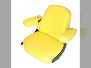 Seat Assembly Super Deluxe Vinyl Yellow John Deere 4450 9510 9400 4840 4230 4455 4250 4650 9600 7720 8430 4030 4010 4000 4040 4430 4630 9410 3020 9610 4320 4440 4850 4050 4240 3010 7700 4640 4020