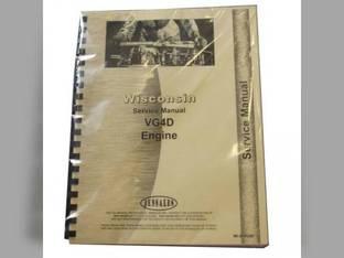 Service Manual - VG4D Engine Hesston 280 300 New Holland L35 Case 1537 Owatonna 350 Wisconsin VG4D