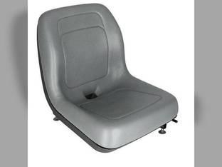 Seat Bucket Vinyl Gray New Holland L160 C185 L180 LT185B LX665 L170 LS180 LS140 C190 C175 LX565 LX885 L865 L783 L190 L175 LS150 LS190 LX865 LS160 LS170 L185 L565 Ford 555C 555A 555B 655A 655C 655 555