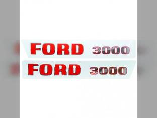 Decal Set Early Ford 3000