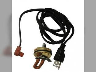 """Frost Plug Heater - 1-1/2"""" 400 Watt 120V International 404 485"""