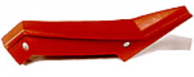 Helical Kicker Plate - Chrome
