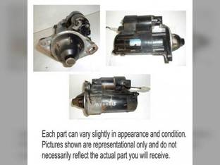 Used Starter - Hitachi DD John Deere Gator HPX4x4 Gator TH 6x4 Gator XUV Gator Military 6x4 4100 4110 1435 AM879204 Yanmar 3T72 3TNA75 3T75 YM1510 3TNA72 YM1600 119626-77010