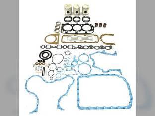 """Engine Rebuild Kit - Less Bearings - .020"""" Oversize Pistons - 1/75-2/90 Ford BSD326 233 2310 231 158 2810 2600"""