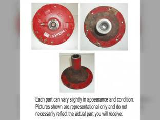 Used Tailings Delivery Auger Hub Case IH 1644 2388 1666 2344 1660 2577 1688 2188 2144 2166 1620 2366 2377 1680 1682 1670 2588 1640 1324840C1