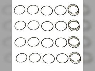"""Piston Ring Set - 4.500"""" Bore - 4 Cylinder International O9 W9 C335 I9"""
