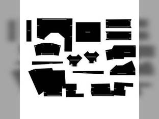 Cab Foam Kit with Headliner Black Case 870 970 770 1070 1175 1170