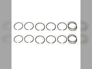 "Piston Ring Set - .120"" Oversize - 2 Cylinder John Deere 520 190 530"