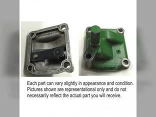 Used Oil Pressure Regulator and Tach Drive Housing John Deere 6030 3010 5020 3020 4010 5010 4020 AR26351