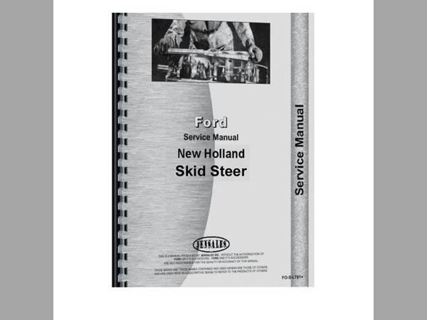 new holland l555 skid steer manual