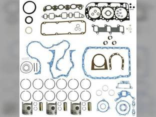 """Engine Rebuild Kit - Less Bearings - .040"""" Oversize Pistons Ford TW15 A66 TW30 TW20 8730 TW35 8830 401T TW25 8630 BSD666T"""