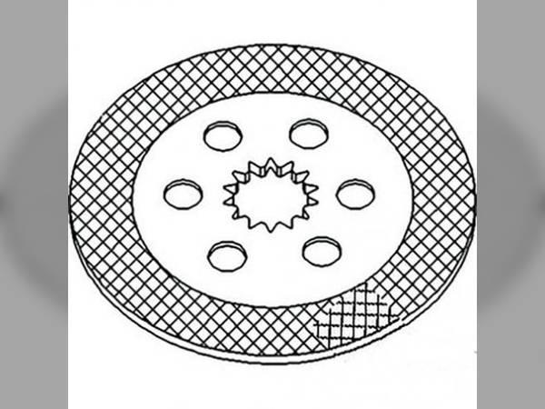 Brake Disc John Deere 7505 7510 7405 7200 7420 7520 7210 7410 7500 7400 Re160072: John Deere 7400 Wire Diagram At Teydeco.co