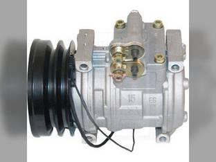 Air Conditioning Compressor - w/Clutch Denso John Deere 7300 2056 6610 7800 6710 7200 6810 7700 2064 2266 2066 2254 2058 2258 6910 7400 2264 6850 6950 2256 6650 6750 7500 2054 SE501821