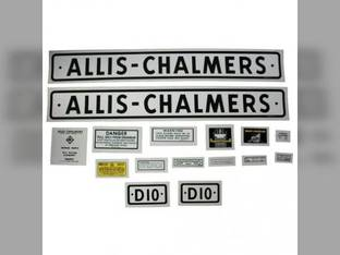Decal Set D12 1957-60 Mylar Allis Chalmers D12