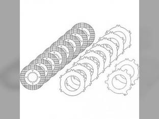 Brake Plate Kit Case IH 7110 7130 7240 7220 7150 7210 7250 7140 7230 7120 1264581C91 International 5288 5488 5088