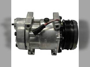 Air Conditioning Compressor - w/Clutch New Holland T6020 T6030 T6030 T6070 T6070 T6050 T6050 Case IH MXU125 MXU100 MXU100 Maxxum 115 Maxxum 125 Maxxum 140 Maxxum 110 MXU115 MXU115 MXU110 MXU110