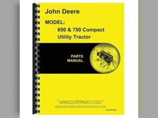 Parts Manual - 650 750 John Deere 650 750 PC1873