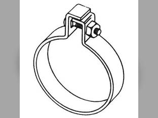 "Muffler Clamp - 1-3/4"" One Bolt Style"