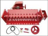 Straw Chopper Assembly with Drive