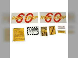 Tractor Decal Set 60 Row Crop Mylar Oliver 60