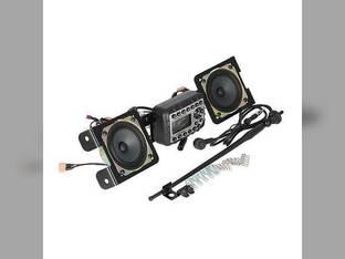 Jensen Mini Heavy-Duty Radio Kit for Skid Steer John Deere 332E 328D 329D 326D 323E 318E 320E 332D 319D 326E 329E 323D 324E 333D 319E 320D 328E 318D 333E