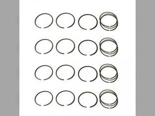 Piston Ring Set - Standard - 4 Cylinder International Super A A F14 C113 F12 C W12 B Case V VO VI VC Massey Harris 81 101 20 21 CockShutt / CO OP 20 Continental F124