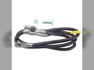 "Battery Cable - 43"" - Black 4 Gauge"