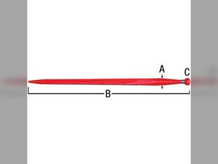 Bale Spear, Point