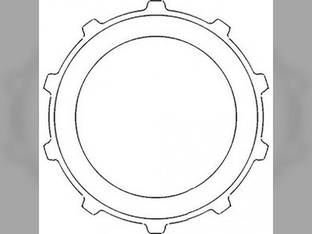 Powershaft Clutch Plate John Deere 2440 2630 1530 1020 2240 2640 2840 2020 1520 2030 T28665