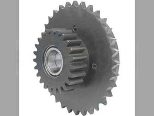 Rotor Drive Sprocket and Gear - RH Case IH RBX462 RB454 RB464 RBX453 RBX463 RBX452 87609664 New Holland BR7070 BR750 BR7060 BR740A BR750A BR740 87014386