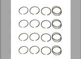 Piston Ring Set - Standard - 4 Cylinder Massey Ferguson TEA20