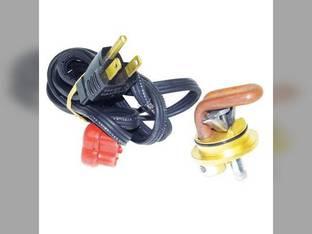 """Frost Plug Heater - 1-1/4"""" 600 Watt 120V Massey Ferguson 35 231 205 2135 360 698 230 50 245 40 40 253 203 135 235 250 364 2200 283 298 399 282 240 150 254 International 1086 1466 1066 966"""