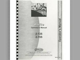 Operator's Manual - 2-135 2-155 White 2-155 2-155 2-135 2-135